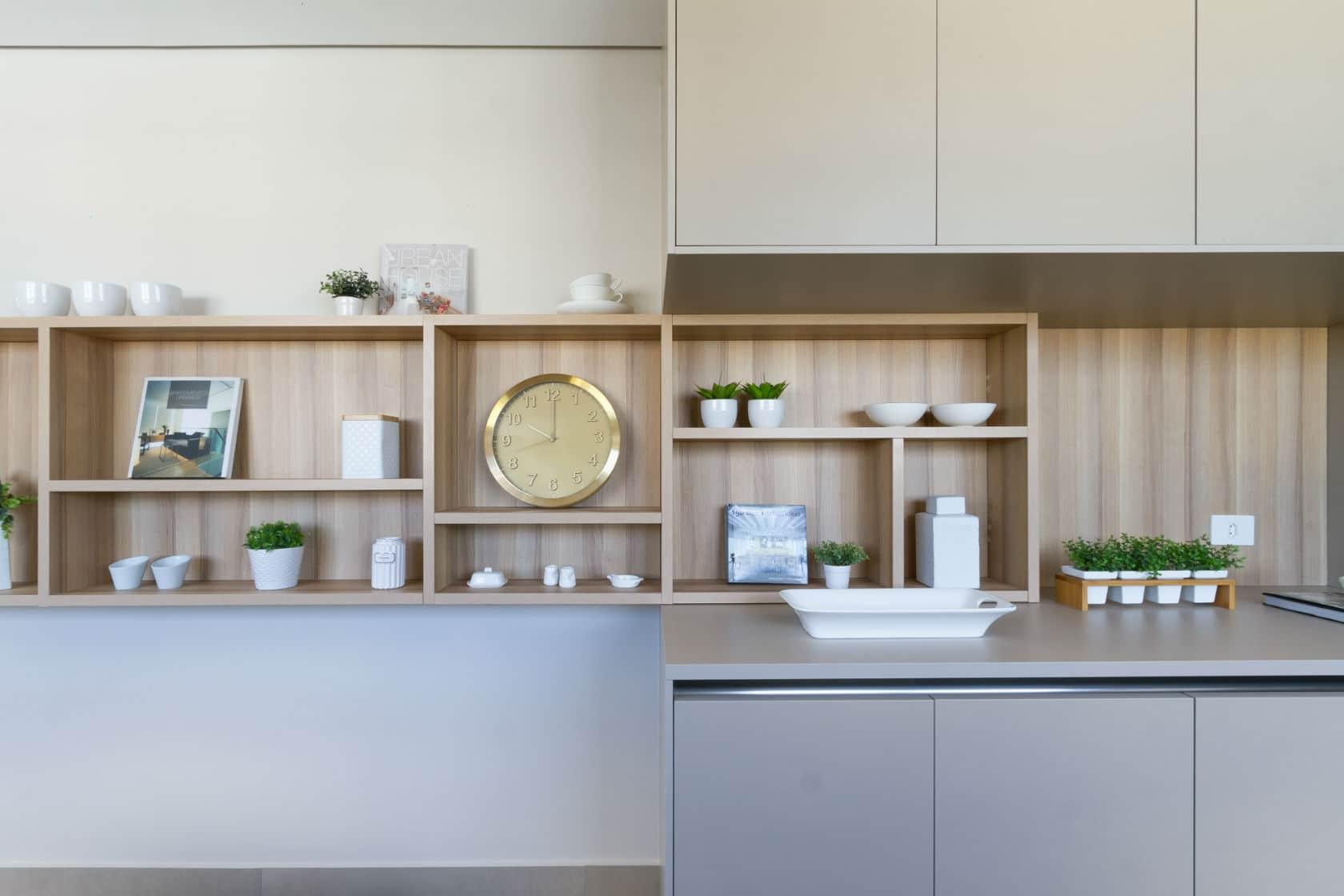 Cozinha ganha destaque nos projetos e decoração caprichada