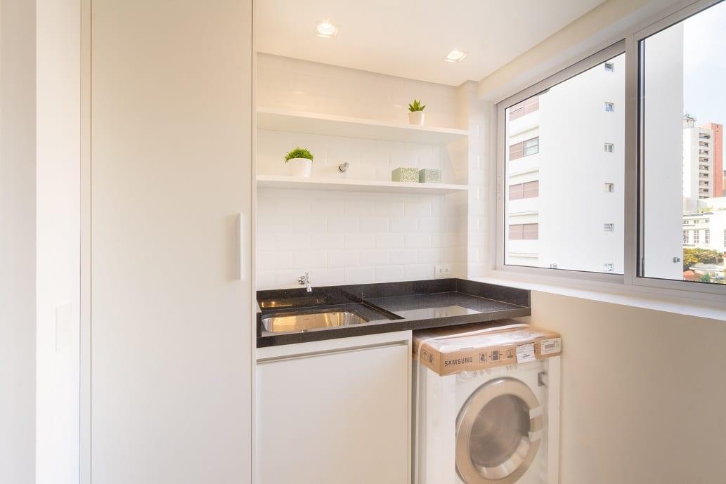 Antes & depois: confira a transformação desta lavanderia em apartamento nos Jardins
