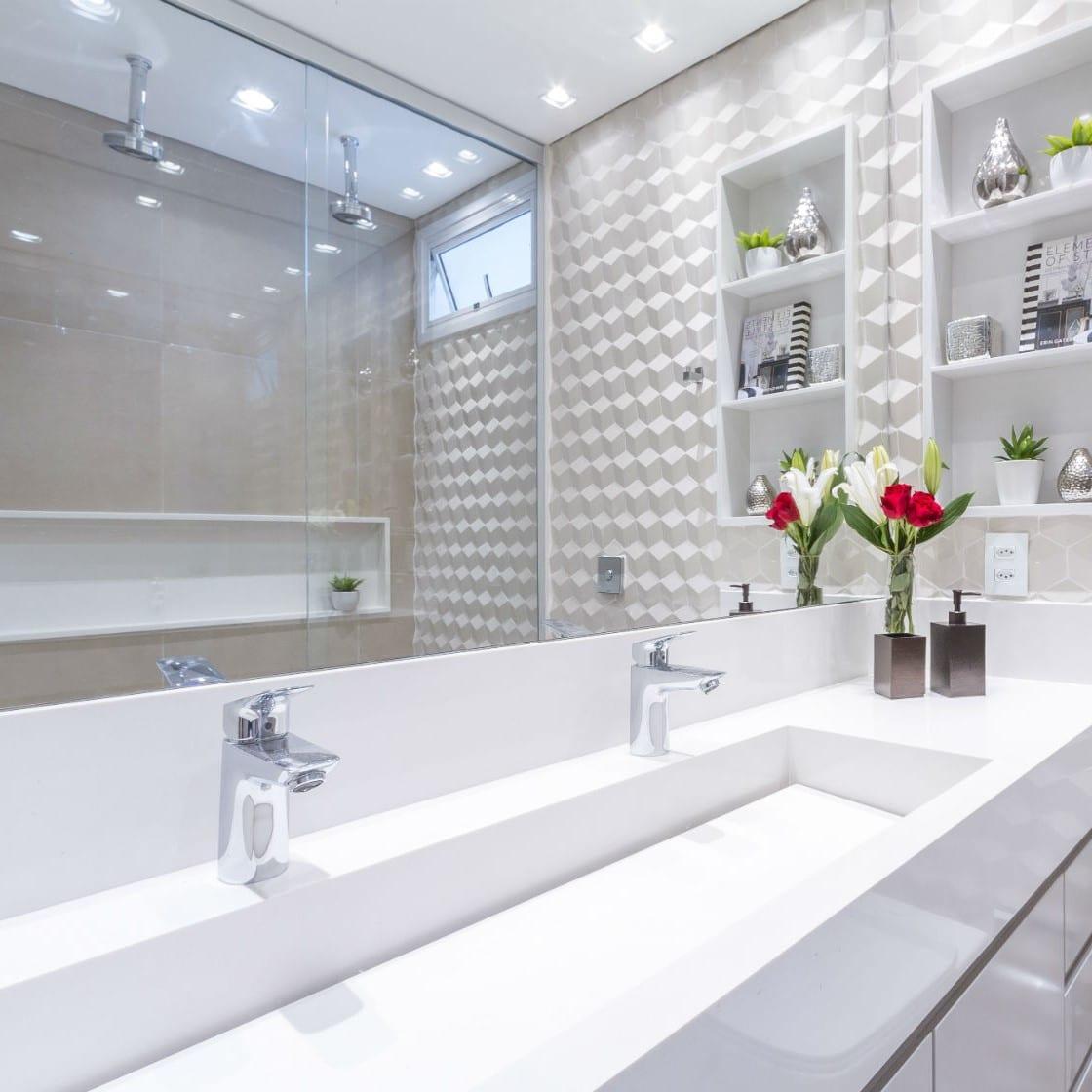 Decoração deixa banheiro mais charmoso e aconchegante