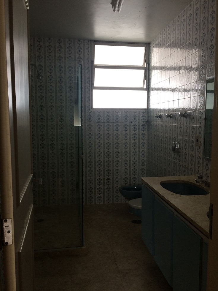 reforma sob medida antes banheiro