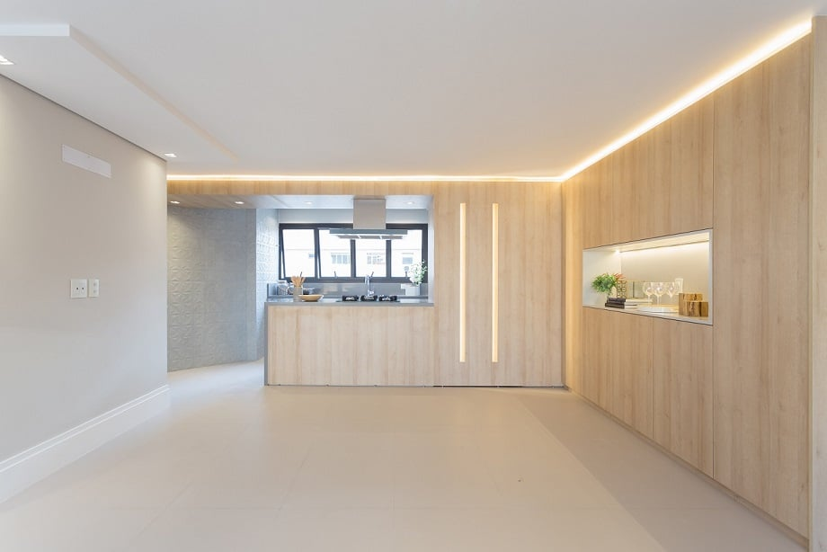 Confira a iluminação neste projeto Casa Unique no Itaim