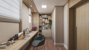 Home office: imagem de um escritório dentro de casa