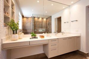 Inspirações para banheiro: revestimento 3D