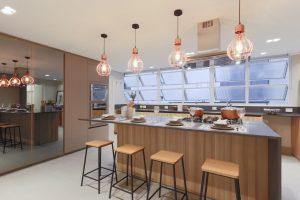 imagem de uma cozinha moderna
