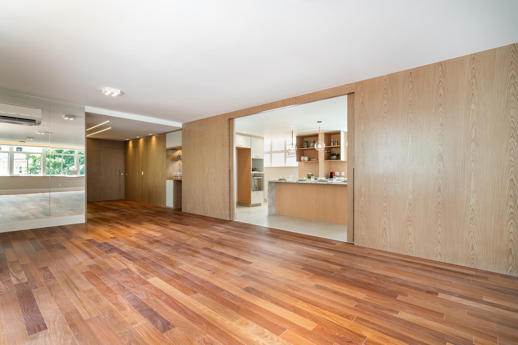 Antes e Depois: Apartamento na Alameda Franca